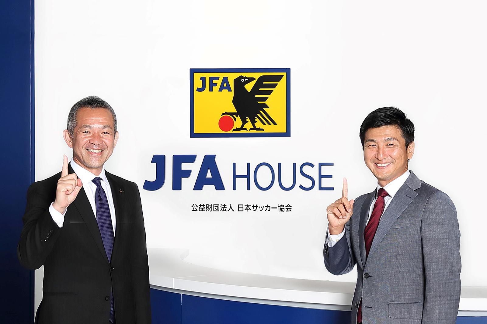 日本サッカー協会須原様×ビズリーチ南