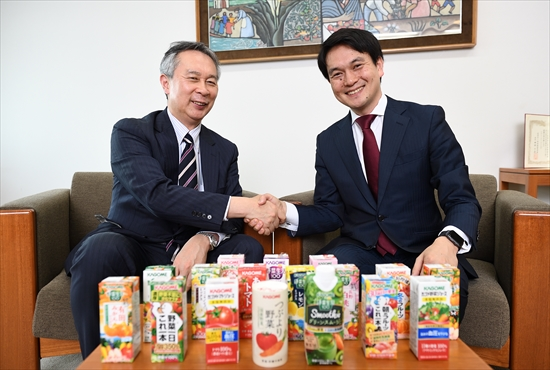 CHOがCEOのコンサルタントとして活躍する世界に(カゴメ株式会社)