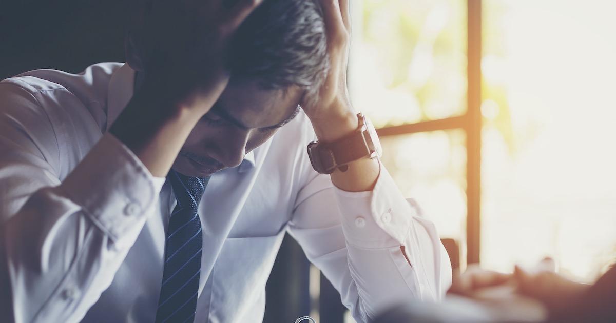 多くの人が抱える、仕事上のストレス