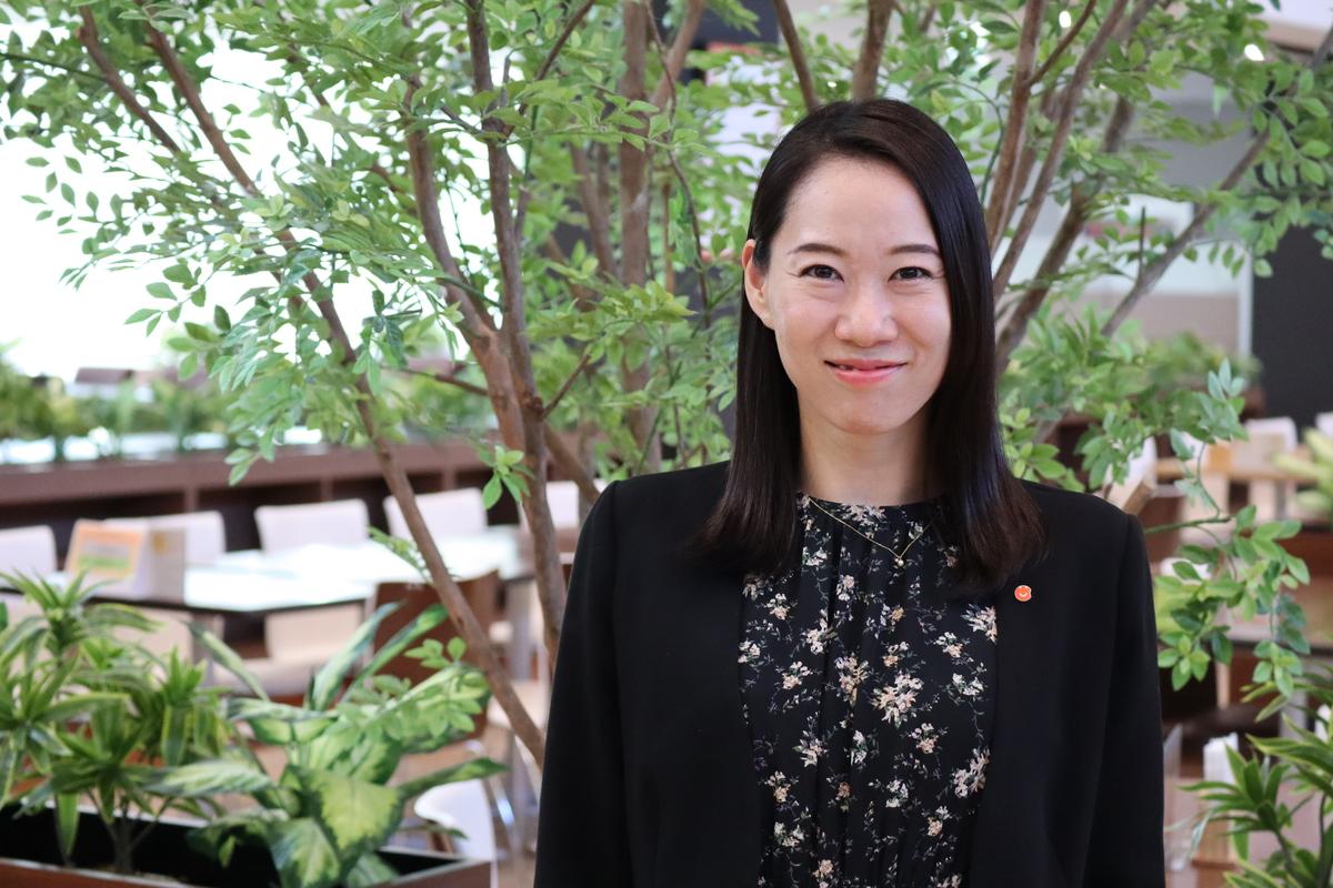 株式会社えがおホールディングス 人事部採用チーム 久保友香様