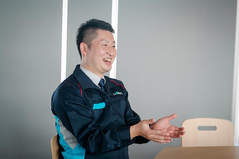 株式会社ソミックマネージメントホールディングス 経営推進部 経営推進室 主任 長岐 知弥様