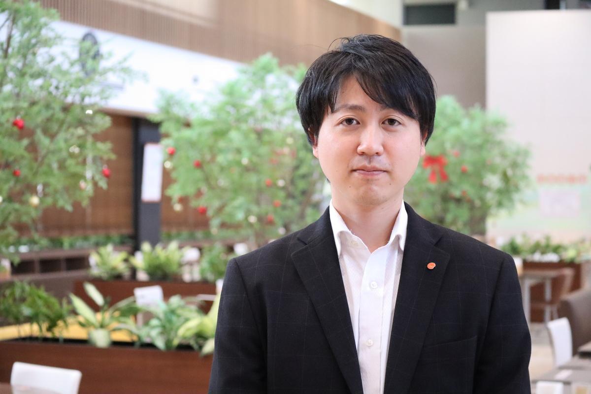 株式会社えがおホールディングス 総務部総務チーム 上田淳也様