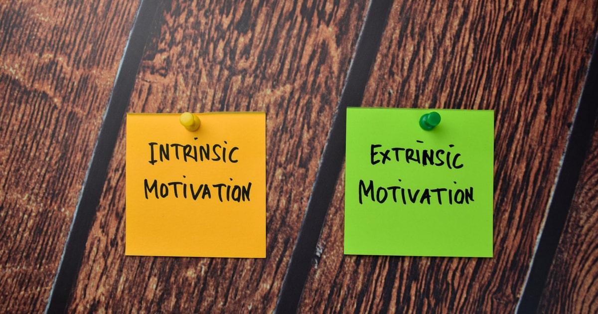 モチベーションには2種類ある