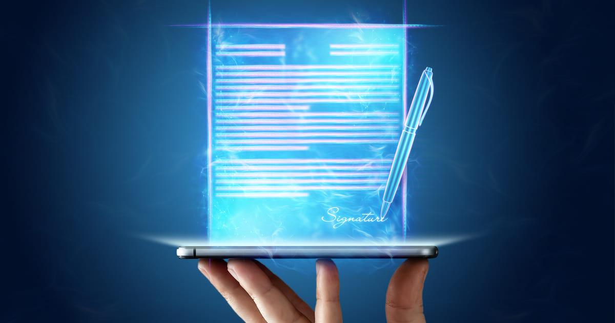 労働条件通知書の電子化解禁